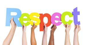 R-E-S-P-E-C-T means enhancing a person's abilities and preserving their rights.