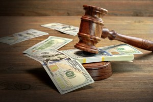 The Court Registry can hold $100,000 in trust, distributing funds on court order.