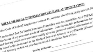HIPAA Medical Information Release Authorization Form