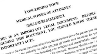 Medical Power of Attorney legal document